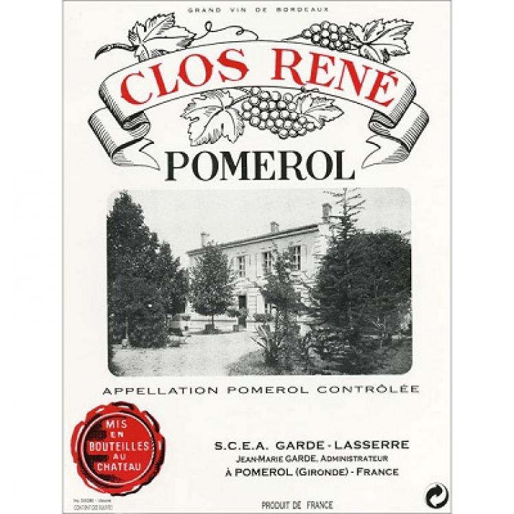 Clos Rene 2018 (6x75cl)
