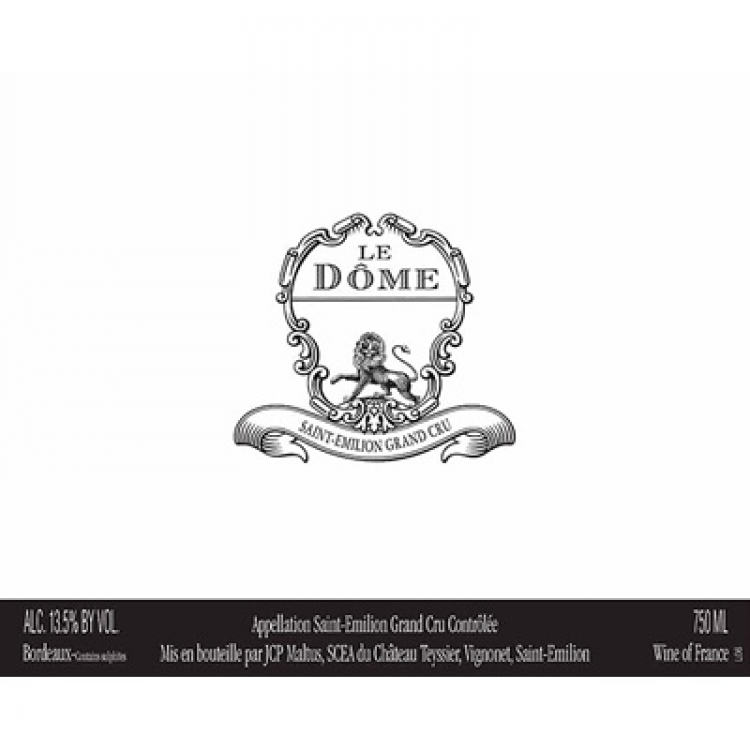 Le Dome 2018 (12x75cl)