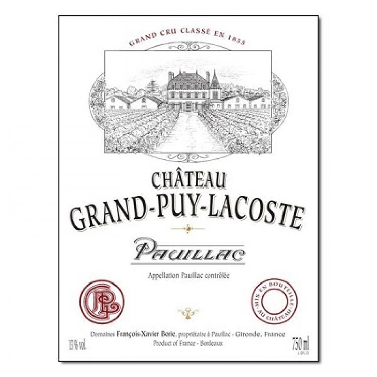 Grand-Puy-Lacoste 2013 (12x75cl)