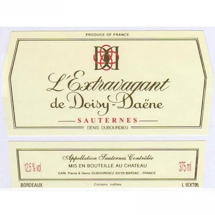 L'Extravagant de Doisy-Daene 2010 (12x37.5cl)