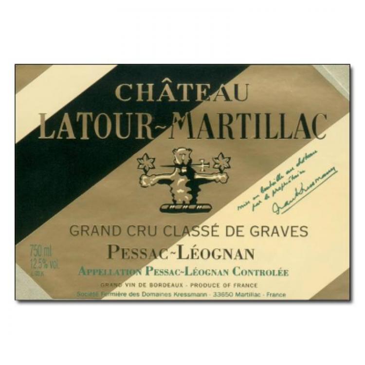 Latour-Martillac Blanc 2017 (6x75cl)