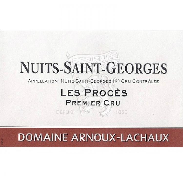 Arnoux-Lachaux Nuits-Saint-Georges 1er Cru Les Proces 2015 (6x75cl)