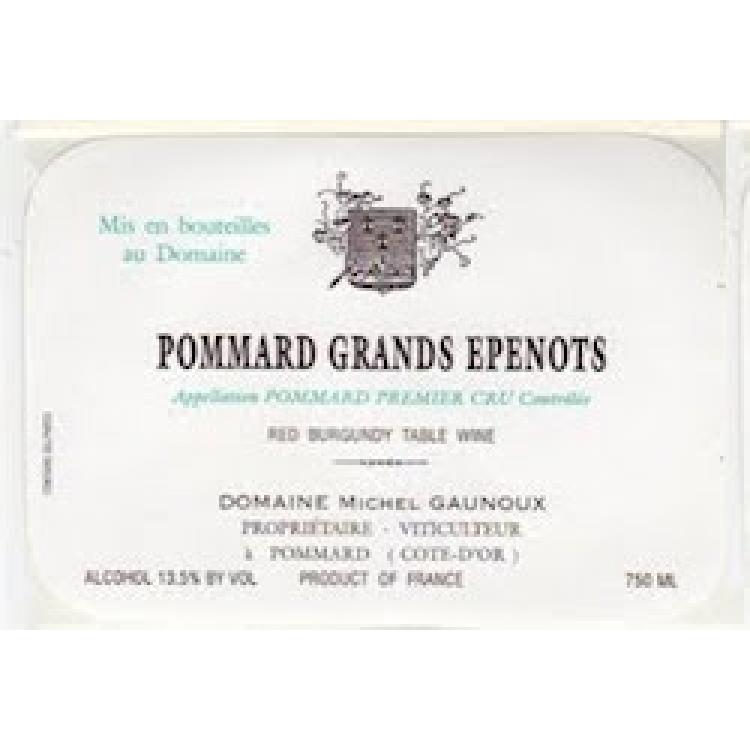 Michel Gaunoux Pommard 1er Cru Grands Epenots 2015 (6x75cl)