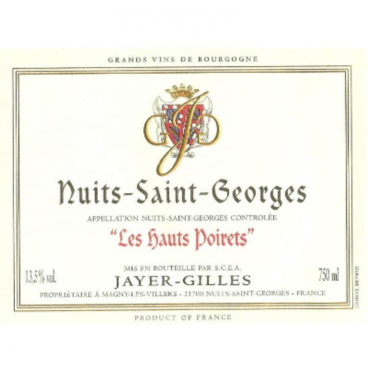 Jayer Gilles Nuits-Saint-Georges 1er Cru Les Hauts Poirets 2014 (6x75cl)