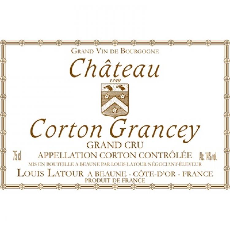 Louis Latour Chateau Corton Grancey Corton Grand Cru 2018 (6x75cl)