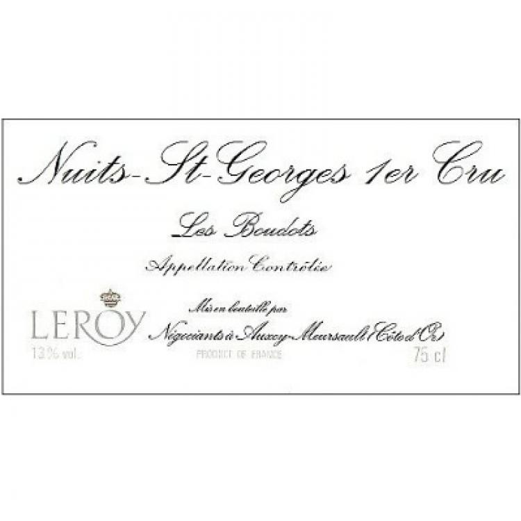 Leroy Nuits-Saint-Georges 1er Cru Les Boudots 2015 (2x75cl)