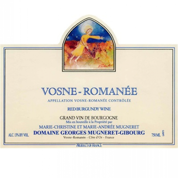 Georges Mugneret-Gibourg Vosne-Romanee 2017 (6x75cl)