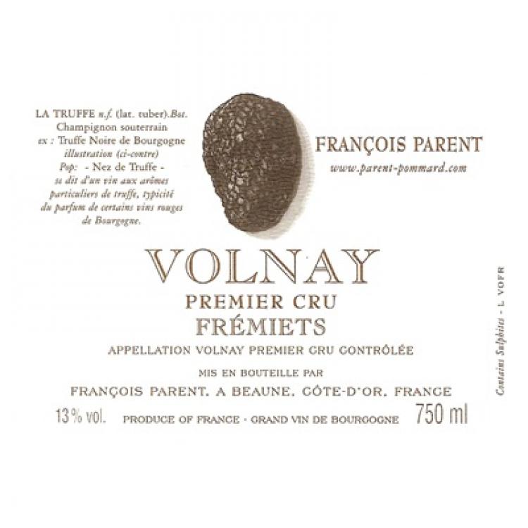 Francois Parent Volnay 1er Cru Fremiets 2005 (12x75cl)