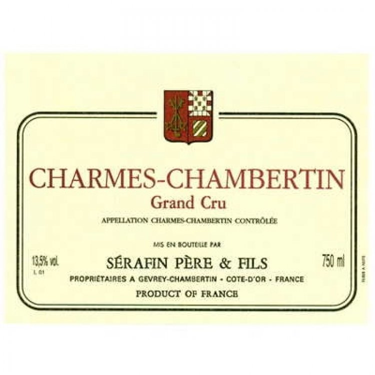 Christian Serafin Charmes-Chambertin Grand Cru 2015 (12x75cl)