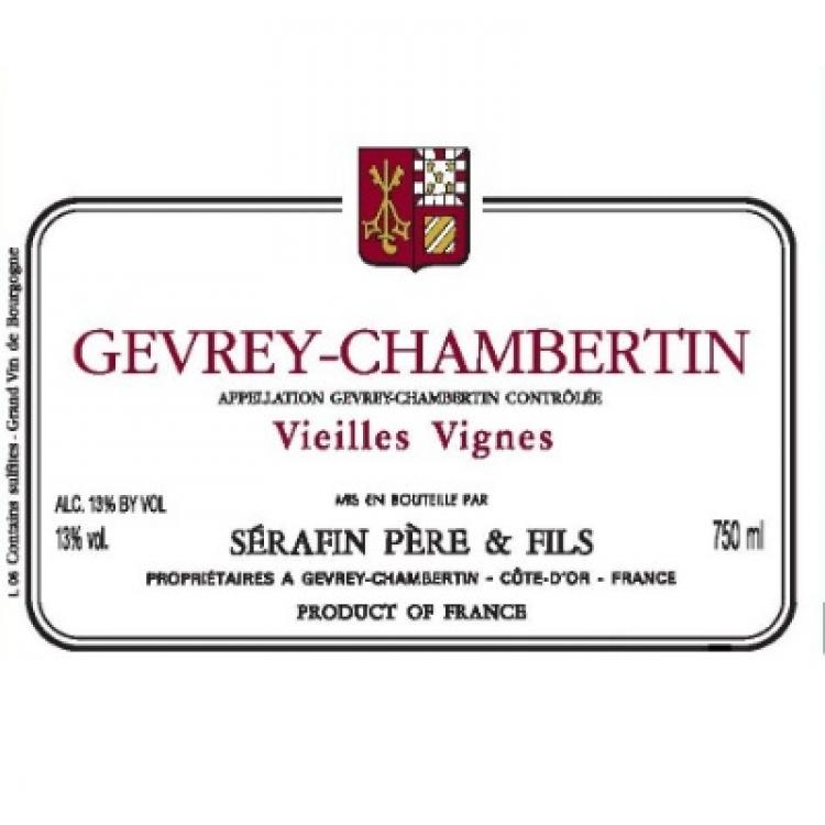 Serafin Pere & Fils Gevrey-Chambertin VV 2013 (12x75cl)