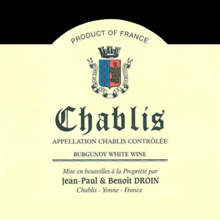 Jean-Paul Droin Chablis 2019 (12x75cl)