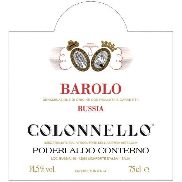 Aldo Conterno Barolo Colonnello 2014 (6x75cl)