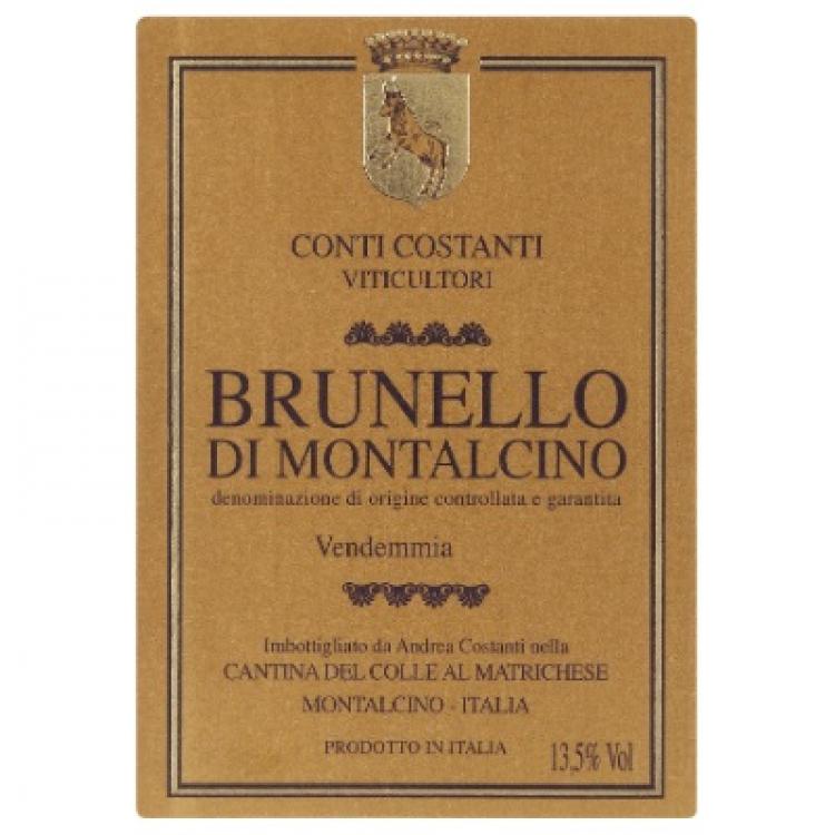 Conti Costanti Brunello di Montalcino 2011 (6x75cl)