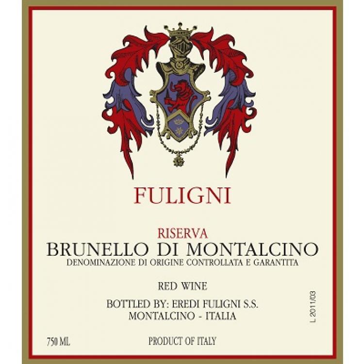Fuligni Brunello di Montalcino Riserva 2013 (6x75cl)