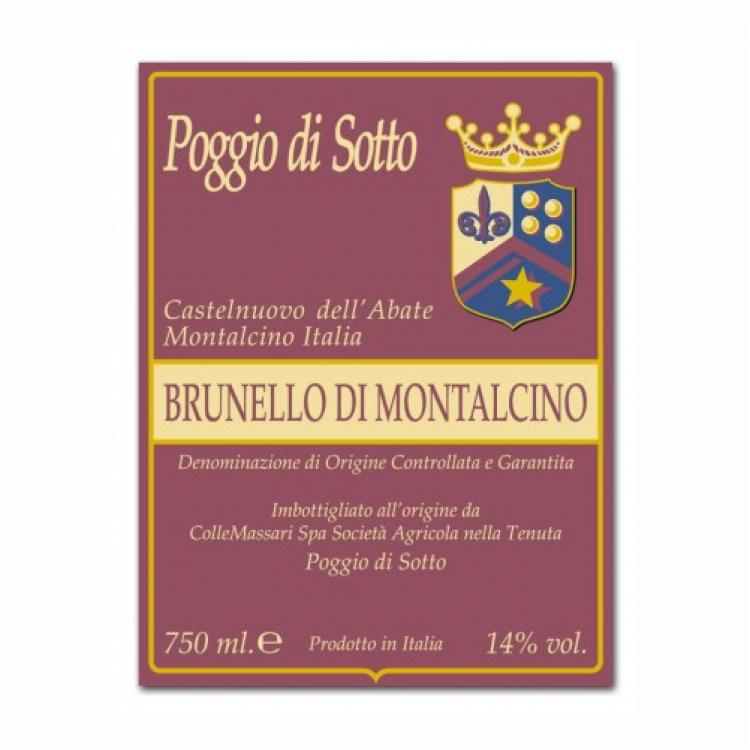 Poggio di Sotto Brunello di Montalcino 2015 (6x75cl)