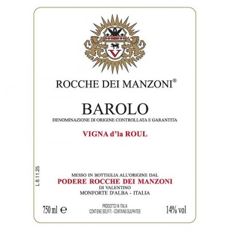 Rocche Dei Manzoni Barolo Vigna d'la Roul 2006 (6x75cl)