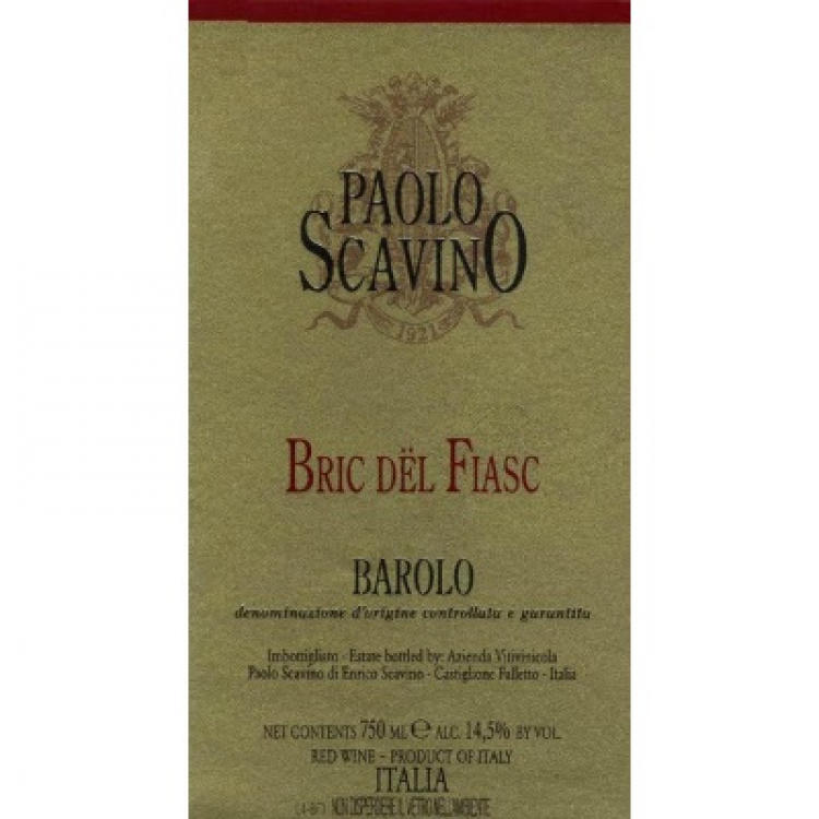 Paolo Scavino Barolo Bric del Fiasc 2013 (6x75cl)