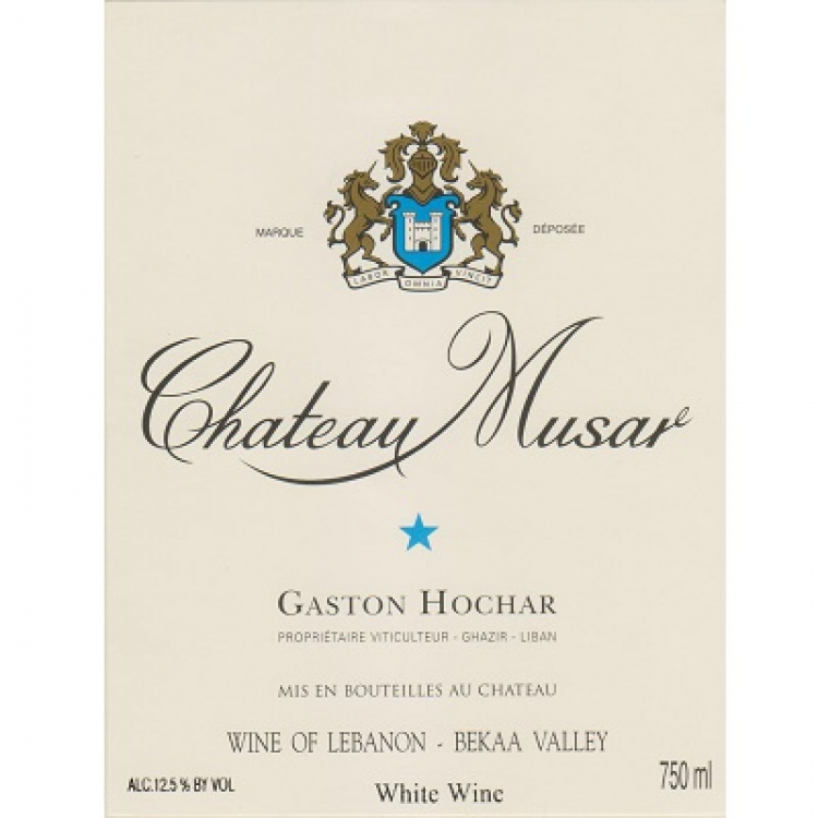 Musar White 2012 (6x75cl)