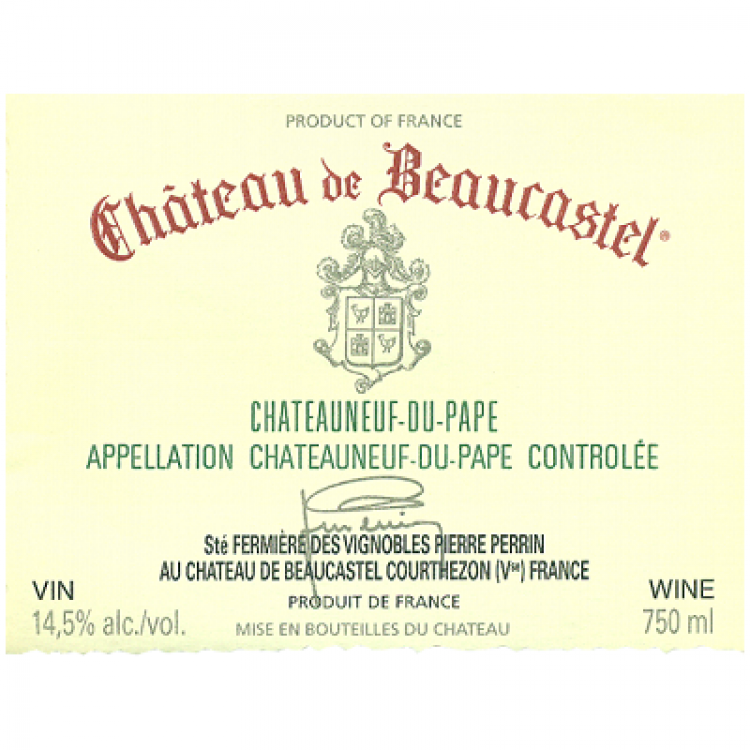 Beaucastel Chateauneuf-du-Pape 2007 (6x75cl)