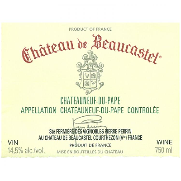 Beaucastel Chateauneuf-du-Pape 2019 (6x75cl)