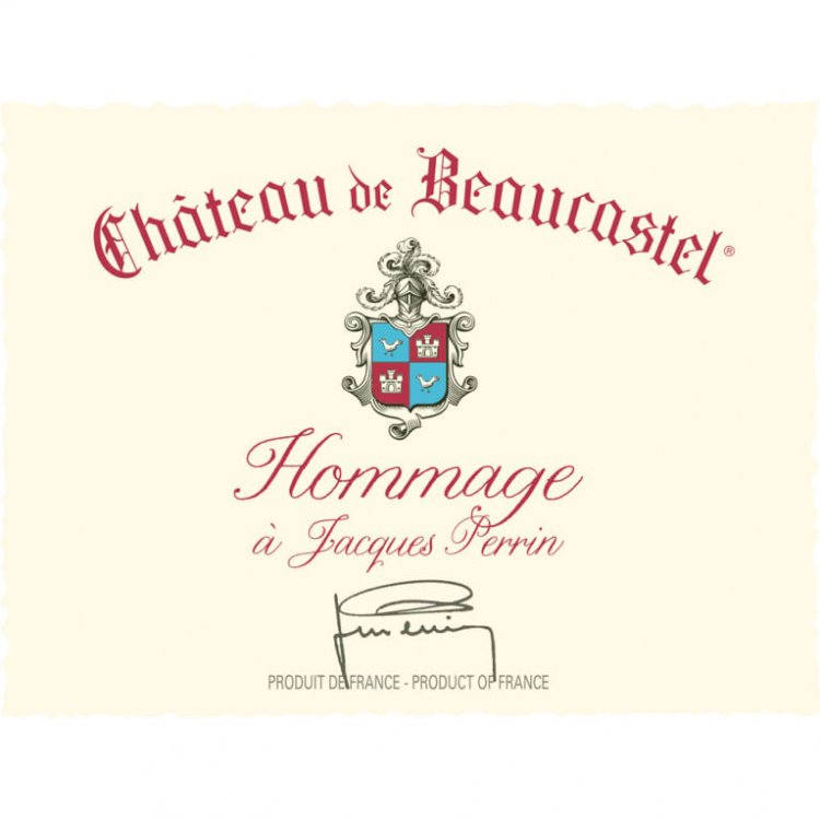 Beaucastel Chateauneuf-du-Pape Hommage a Jacques Perrin 2016 (3x75cl)