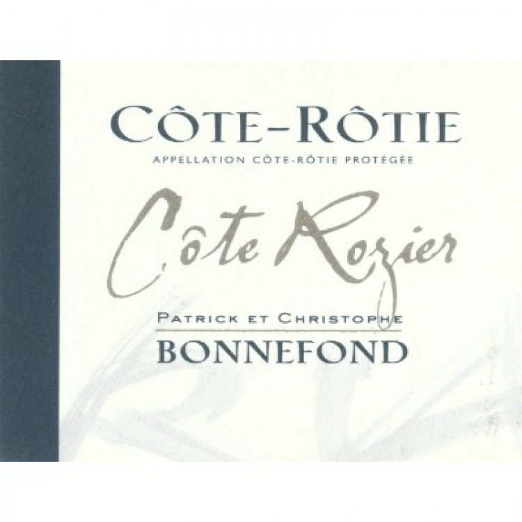 Patrick & Christophe Bonnefond Cote-Rotie Cote Rozier 2018 (6x75cl)