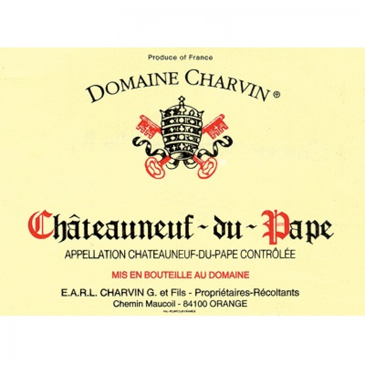 Charvin Chateauneuf-du-Pape 2014 (12x75cl)