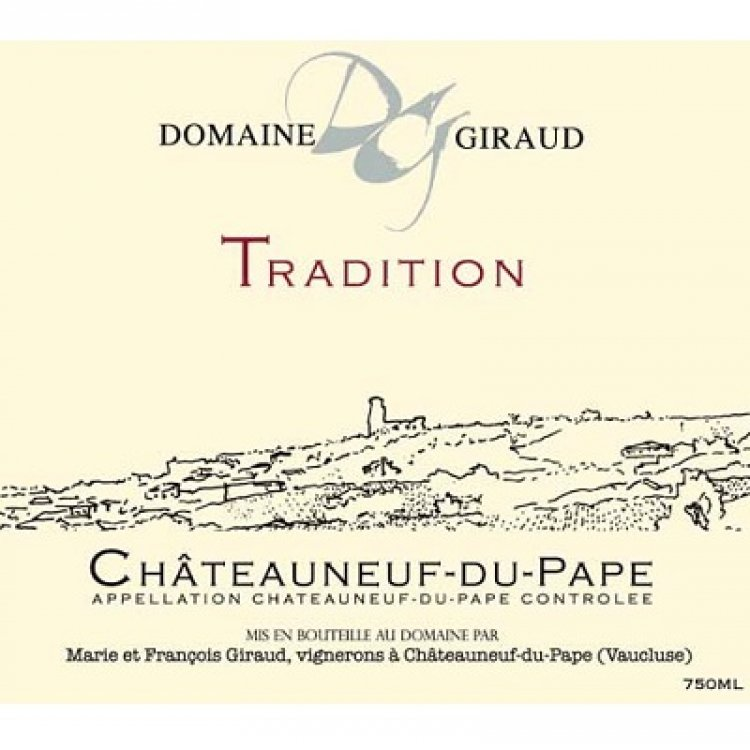 Giraud Chateauneuf-du-Pape Tradition 2011 (12x75cl)