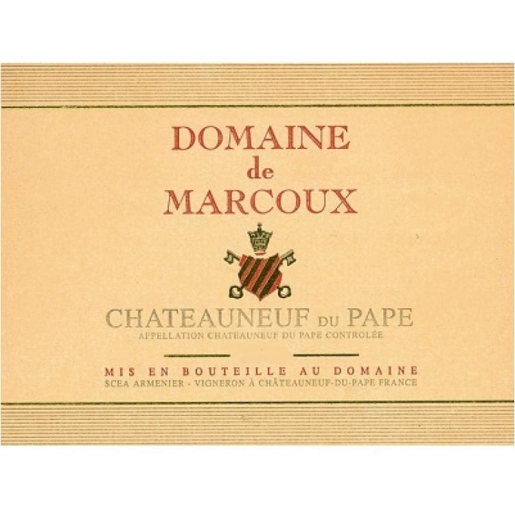 Marcoux Chateauneuf-du-Pape 2015 (6x75cl)