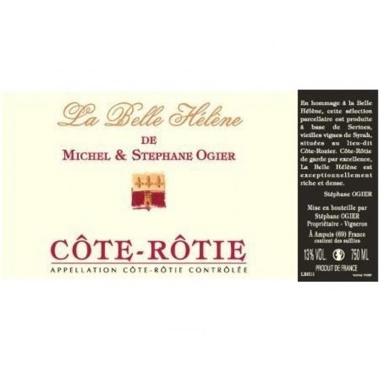 Michel & Stephane Ogier Cote-Rotie La Belle Helene 2015 (6x75cl)