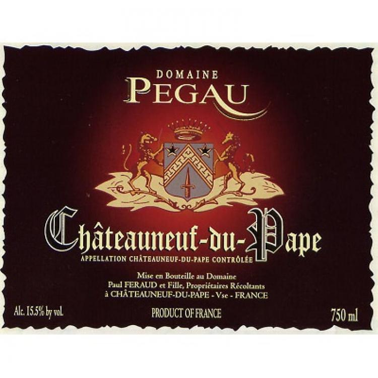 Pegau Chateauneuf-du-Pape Cuvee du Capo 2016 (1x1500cl)