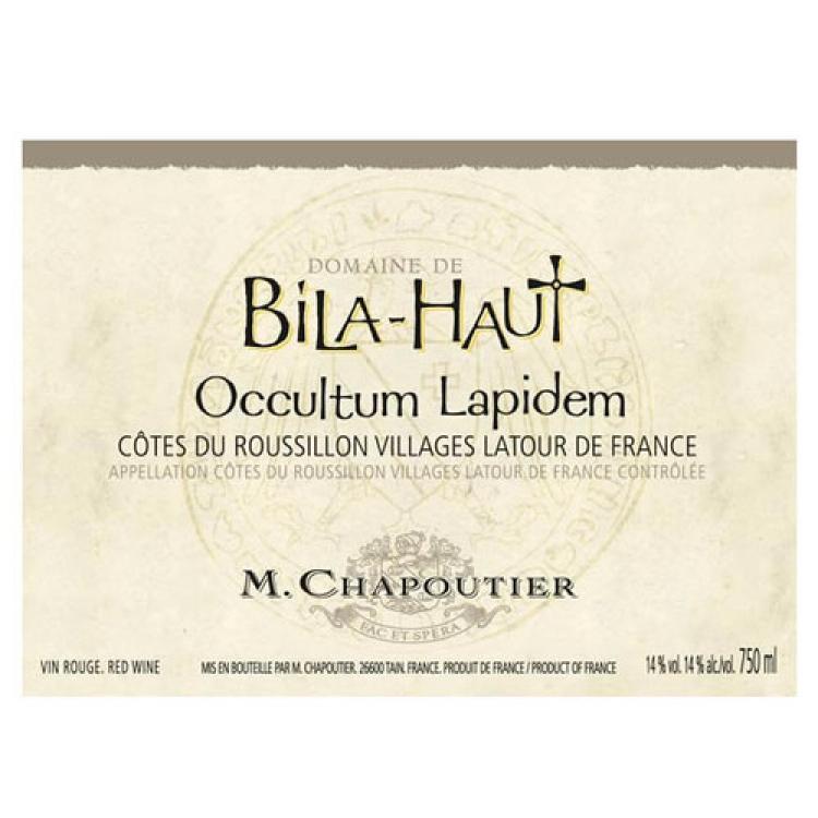 Chapoutier Bila-Haut Cotes-du-Roussillon Occultum Lapidem 2015 (1x300cl)