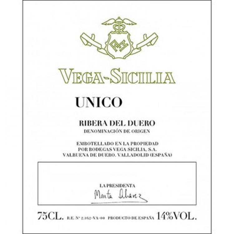 Vega Sicilia Unico 2010 (3x75cl)