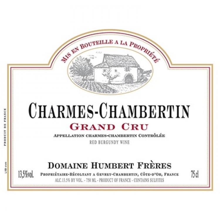 Humbert Freres Charmes-Chambertin Grand Cru 2015 (6x75cl)