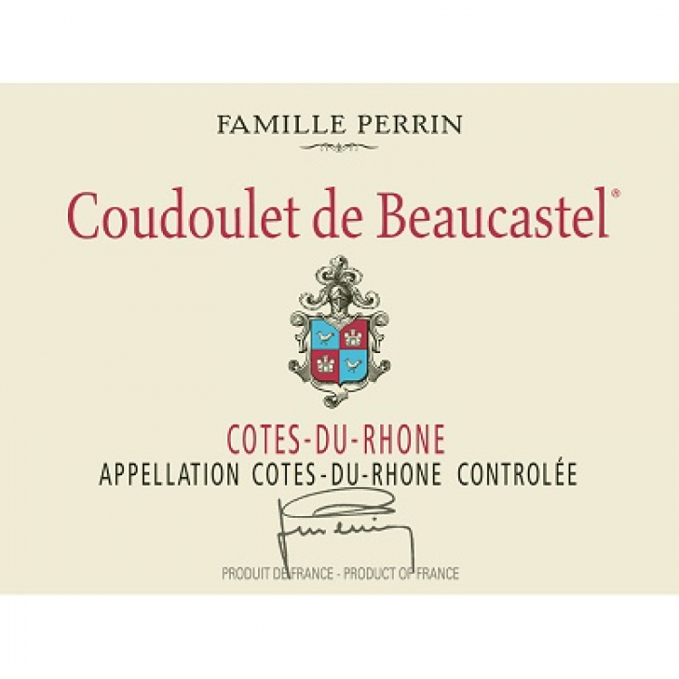Beaucastel Cotes-du-Rhone Coudoulet de Beaucastel 2019 (12x75cl)