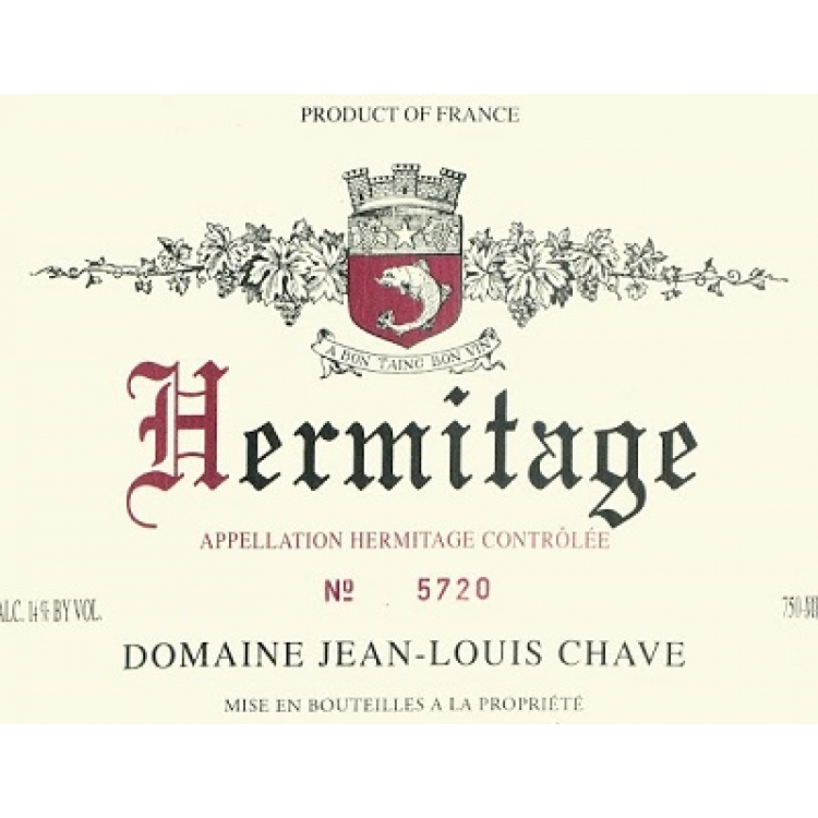Jean-Louis Chave Hermitage Blanc 1983 (1x75cl)