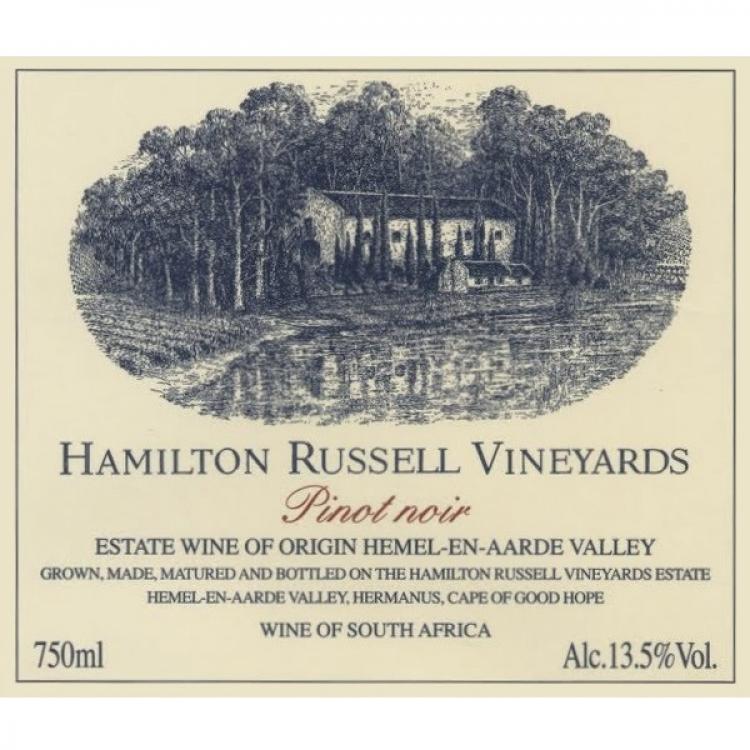 Hamilton Russell Pinot Noir 2013 (6x75cl)