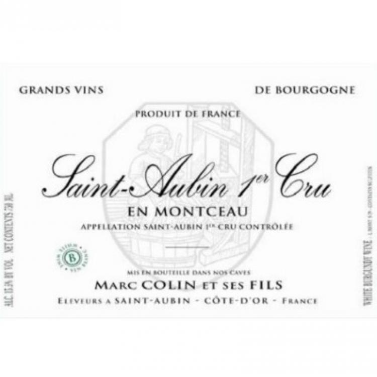 Marc Colin & Fils Saint-Aubin 1er Cru En Montceau 2013 (12x75cl)