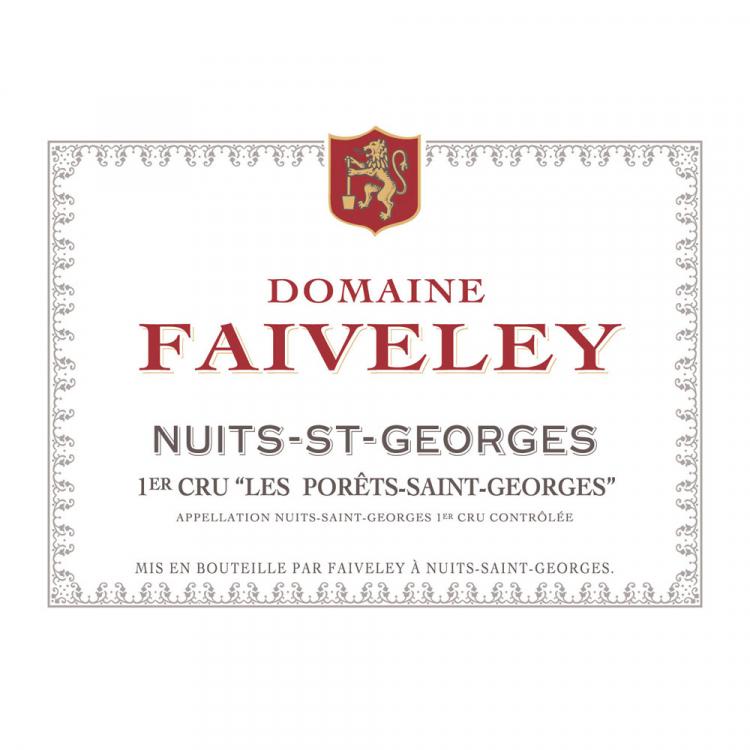 Faiveley Nuits-Saint-Georges 1er Cru Les Porets-Saint-Georges 2015 (6x75cl)