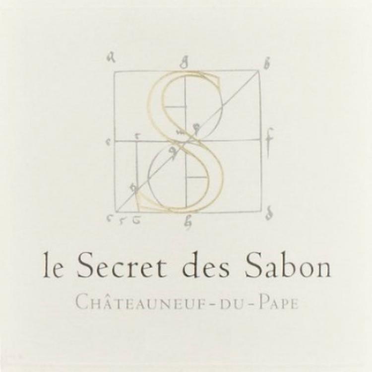 Roger Sabon Chateauneuf-du-Pape Le Secret des Sabon 2005 (1x75cl)