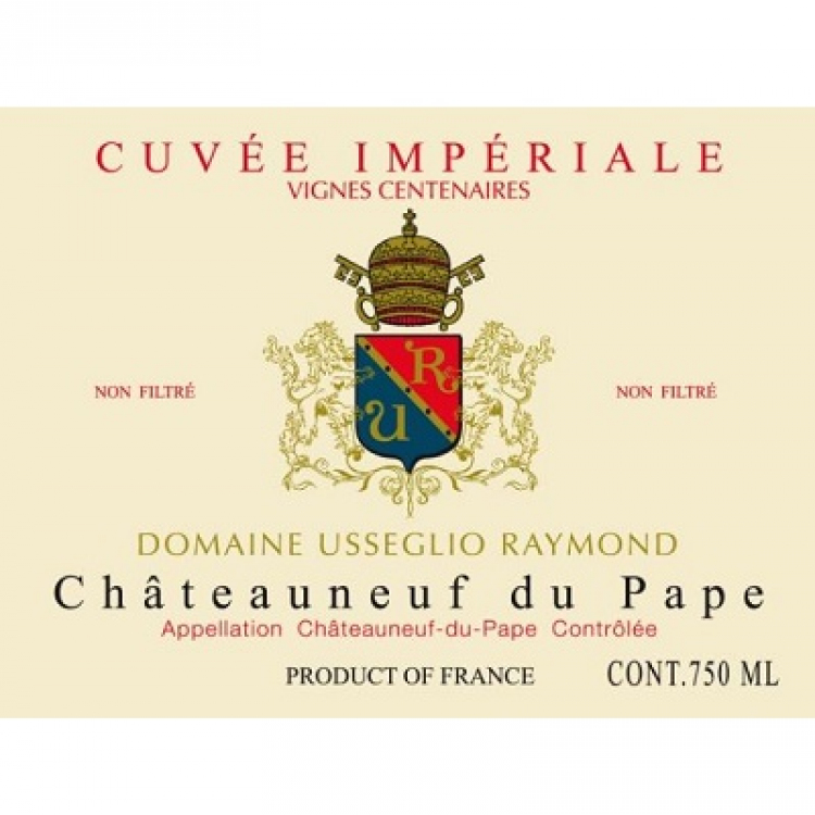 Raymond Usseglio Chateauneuf-du-Pape Imperiale 2010 (12x75cl)