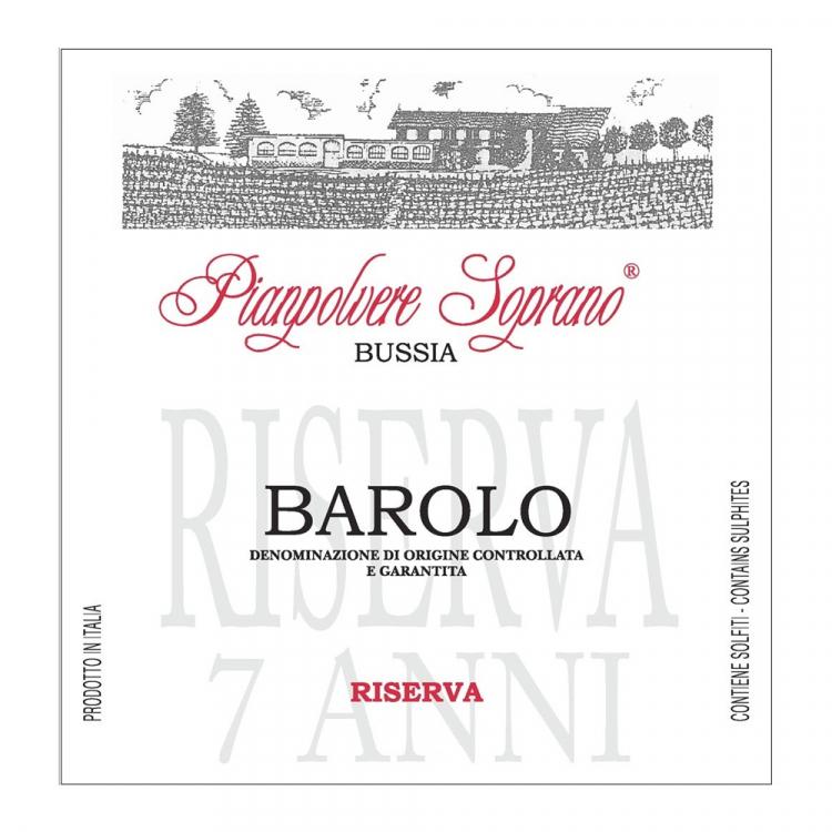 Rocche Dei Manzoni Barolo Riserva Pianpolvere Soprano Bussia 2010 (6x75cl)