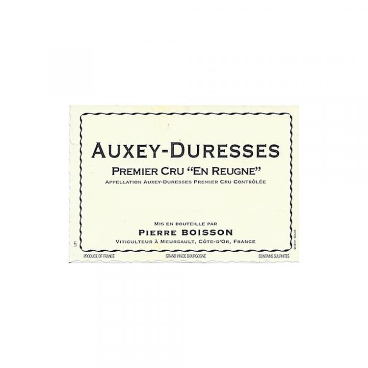 Pierre Boisson Auxey Duresses Blanc 1er Cru en Reugne 2016 (12x75cl)
