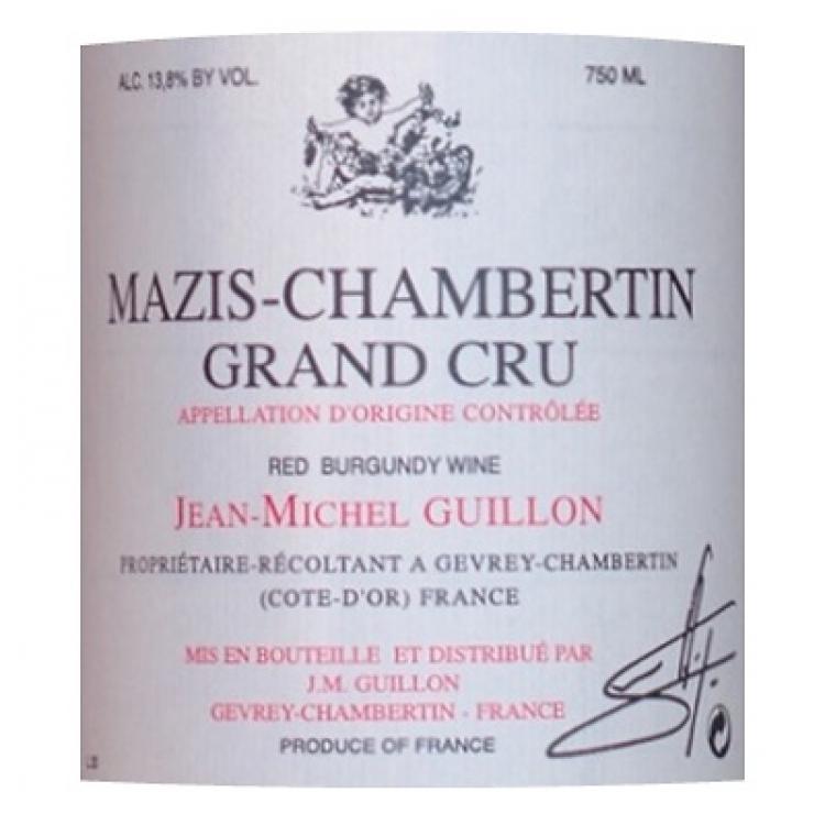 Jean Michel Guillon Mazis-Chambertin Grand Cru 2013 (12x75cl)