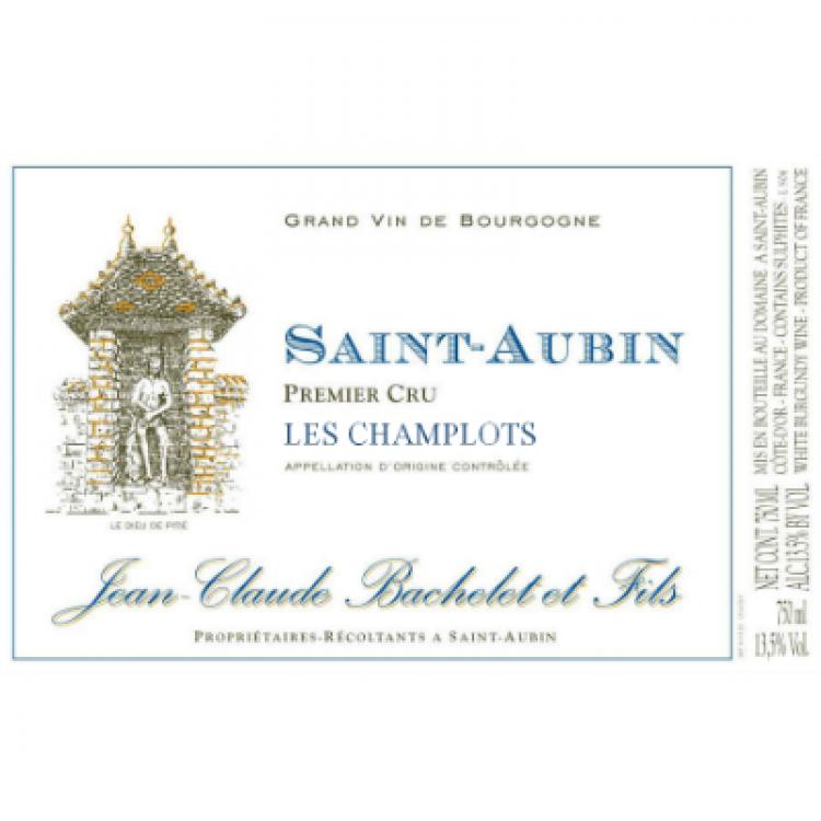 Jean-Claude Bachelet Saint-Aubin 1er Cru Les Champlots 2013 (12x75cl)