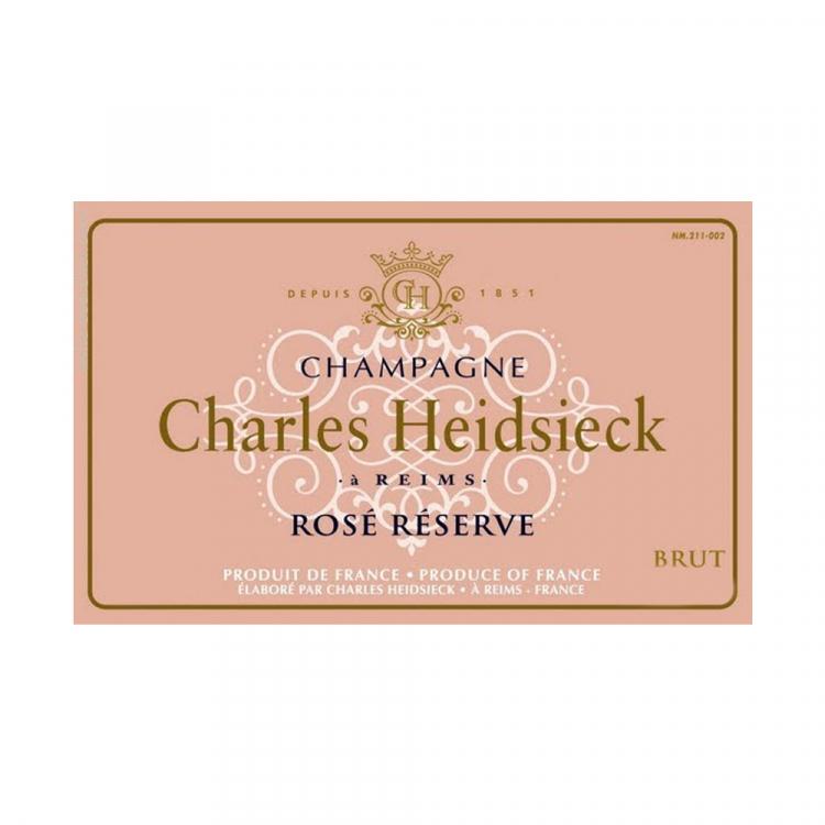 Charles Heidsieck Brut Rose Reserve NV (6x75cl)