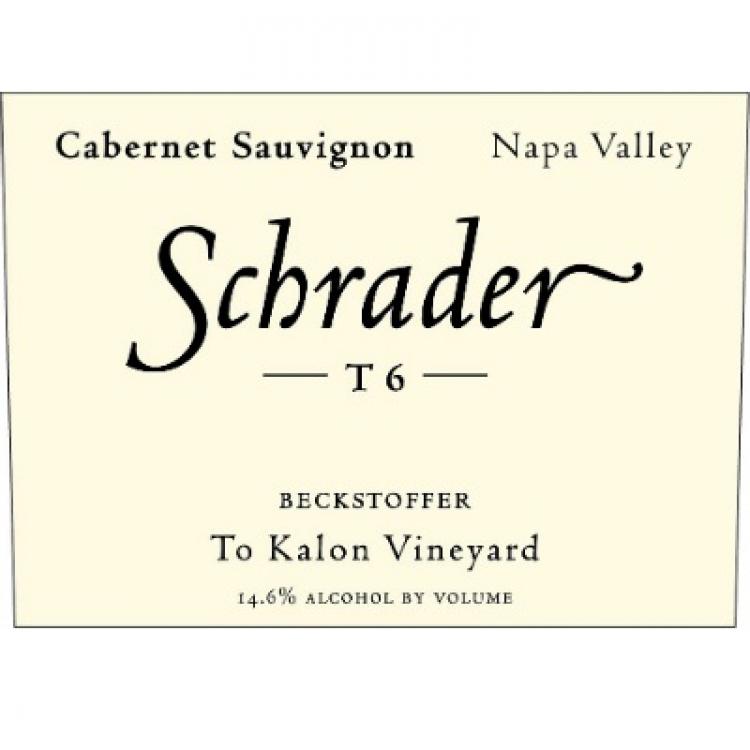 Schrader T6 Beckstoffer To Kalon Cabernet Sauvignon 2018 (6x75cl)