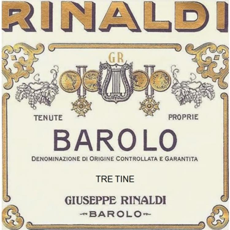 Giuseppe Rinaldi Barolo Tre Tine 2017 (6x150cl)