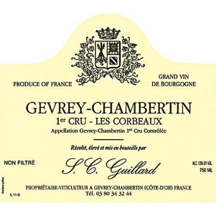 Guillard Gevrey-Chambertin 1er Cru Les Corbeaux 2014 (6x75cl)