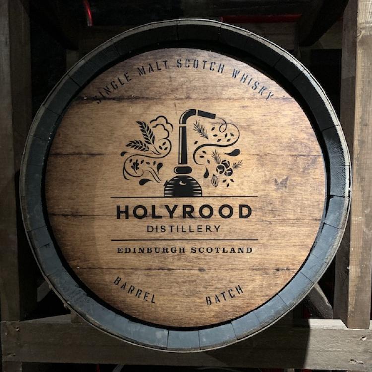 Holyrood 'Golden Promise' 1st Fill Oloroso Hogshead Cask No. 229 Full Cask 2021